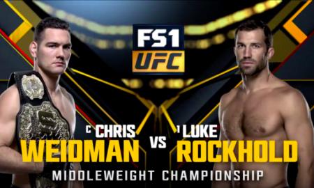 Weidman vs Rockhold