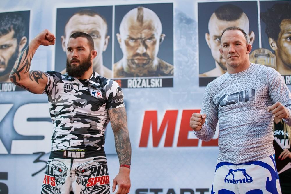 Michał Materla vs Antoni Chmielewski