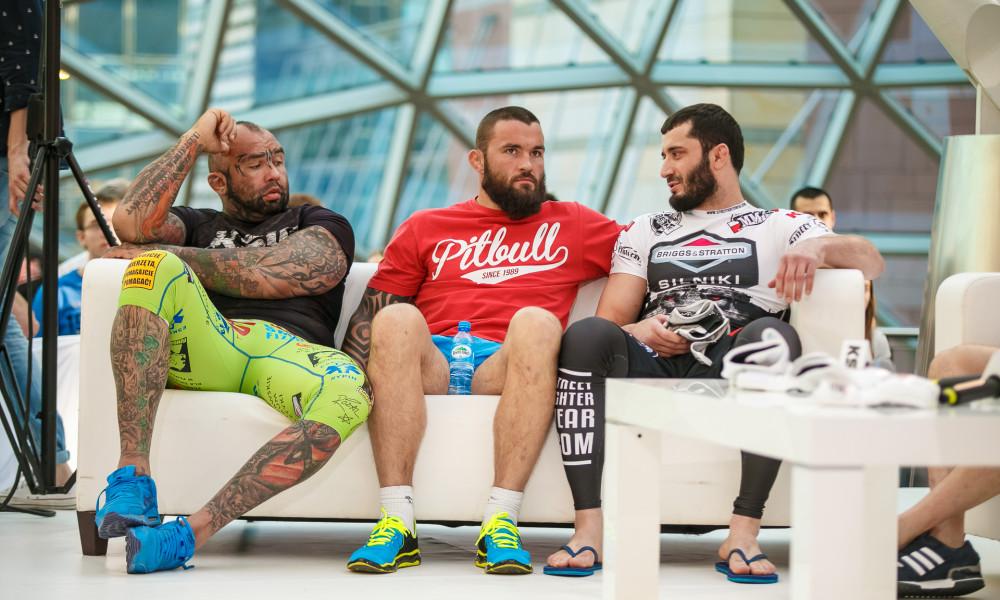 Marcin Różalski, Michał Materla, Mamed Chalidow