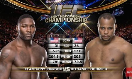 Johnson vs Cormier