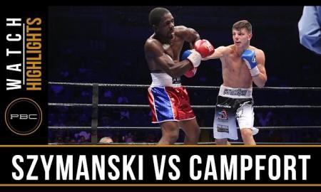 Szymański vs Campfort