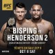 Bisping - Henderson UFC Manchester
