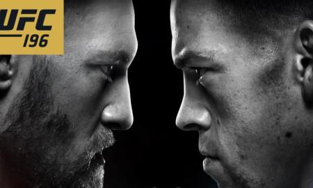 Conor McGregor vs Nate Diaz UFC 196