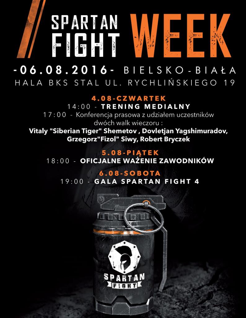 Fight Week Spartan Fight 4