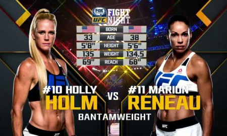 Holm vs Reneau Extra Fight
