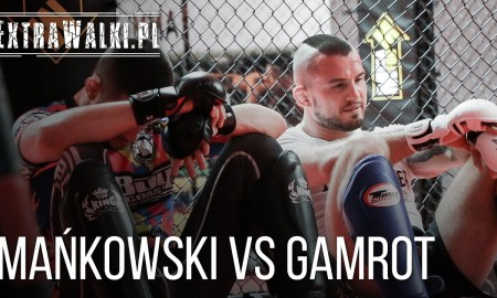 Mańkowski vs Gamrot grappling