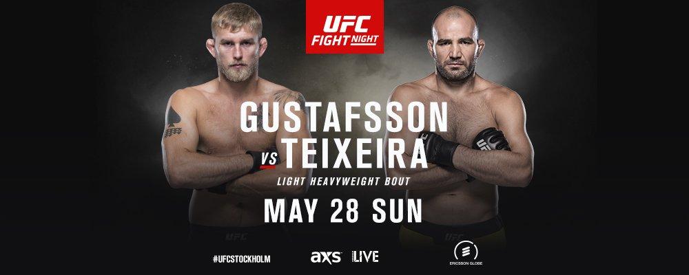 UFC Gustafsson Teixeira