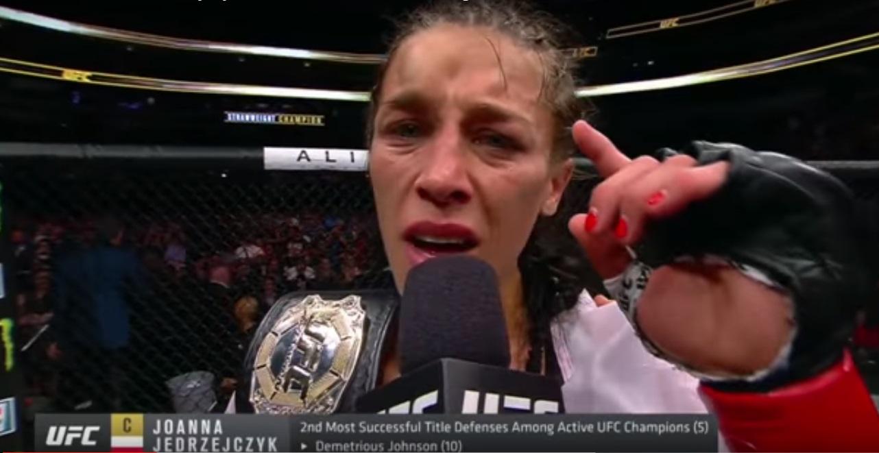 Jędrzejczyk po UFC 211