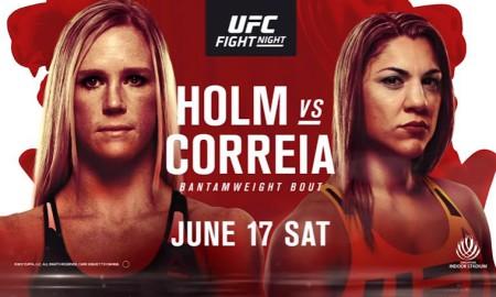 Holm vs Correia UFC