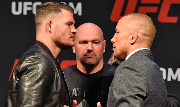 Bisping vs St. Pierre UFC