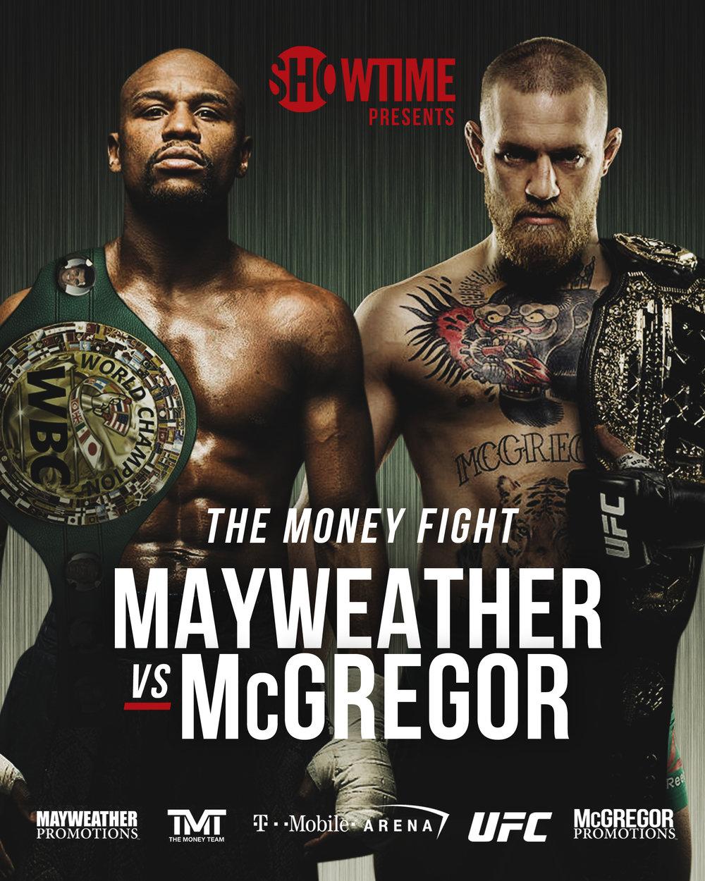 Mayweather Jr vs McGregor