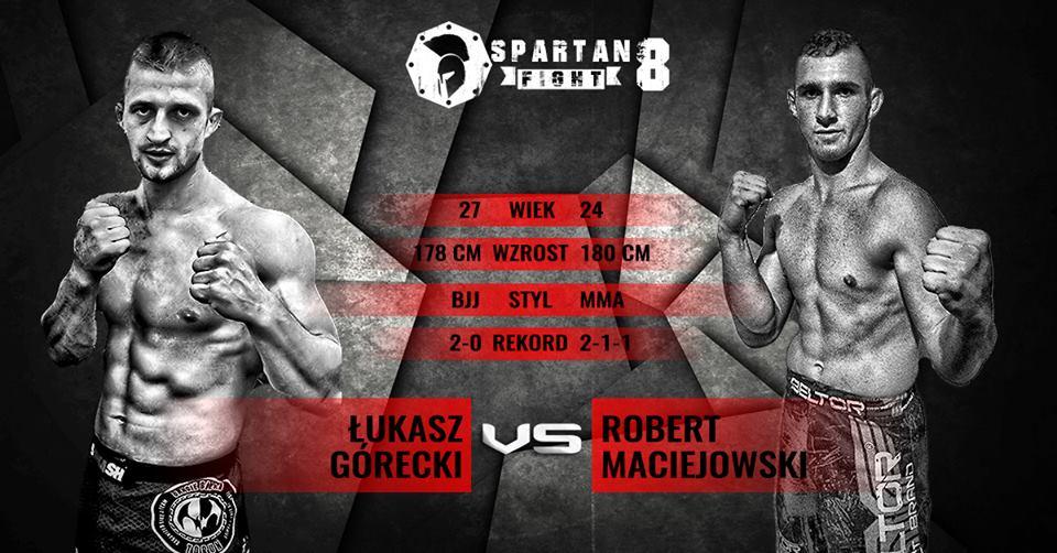 Maciejowski vs Górecki Spartan Fight 8