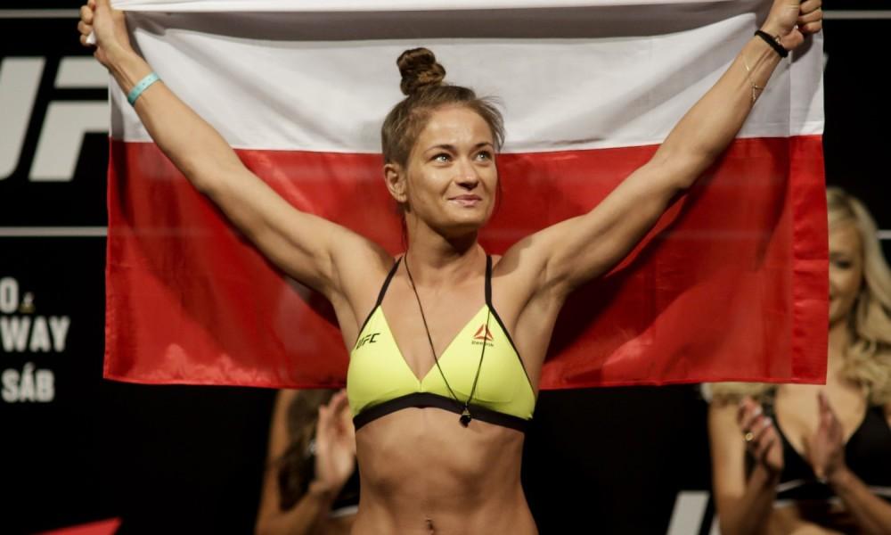 Karolina Kowalkiewicz UFC Gdańsk