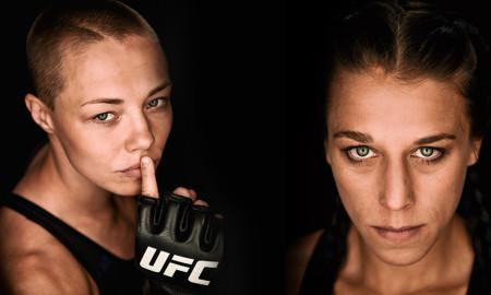 Jędrzejczyk & Namajunas UFC