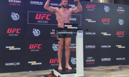 Jan Błachowicz weigh Moscow