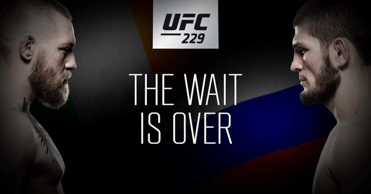 UFC 229 McGregor - Chabib