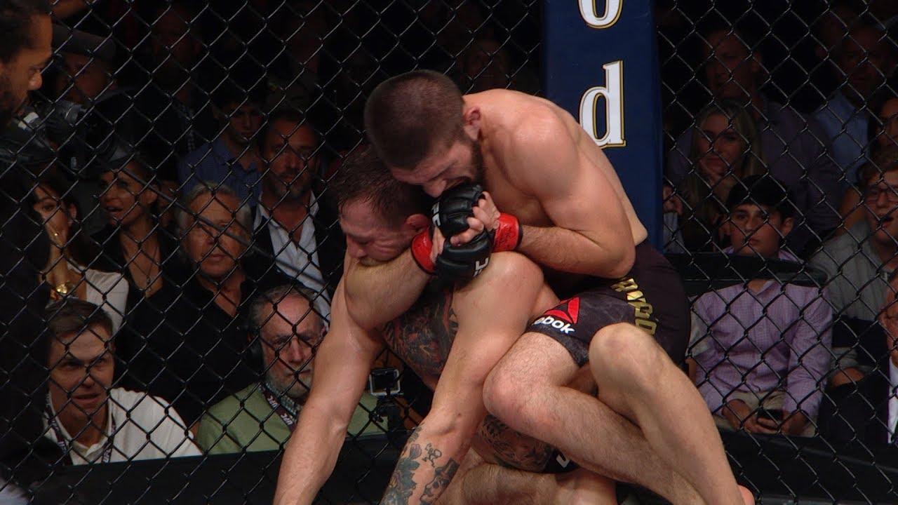 UFC 229 fight motion